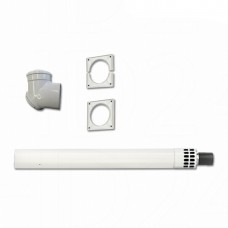 Kit evacuare gaze arse orizontal Bosch AZB600/3