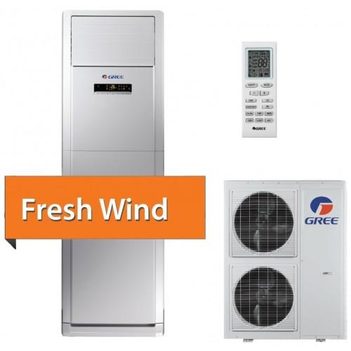 Aer conditionat coloana inverter Gree Fresh Wind GVH48AH - M3DNA5A 42000 BTU