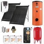 Pachet Boiler 150L + panou solar cu 20 tuburi vidate Ferroli Ecotube New