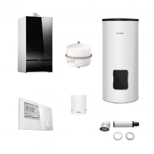 Buderus LOGAMAX PLUS GB172-35 i H  + termostat RC310 + boiler 290 litri