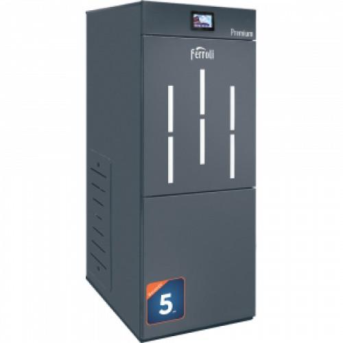 Cazan pe peleti Ferroli BioPellet Premium 30, 30 kW