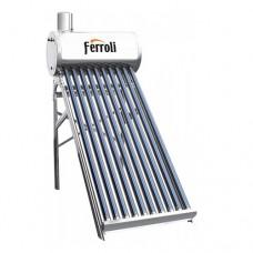 Panou solar nepresurizat cu boiler 150 litri Ferroli EcoSole JDL-TF15-58/1.8-SS