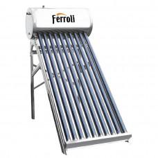 Panou solar presurizat Ferroli EcoHeat 20 cu boiler 200 litri si 20 tuburi