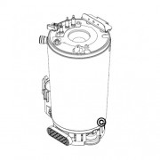 Schimbator de caldura principal Bosch Condens 2500 / Buderus GB062
