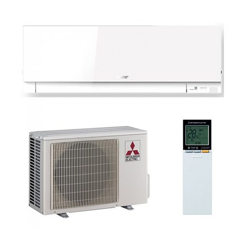 Aer conditionat split inverter Mitsubishi Electric Kirigamine Zen EF25VE 9000 BTU Alb