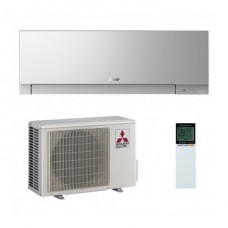 Aer conditionat split inverter Mitsubishi Electric Kirigamine Zen EF25VE 9000 BTU Argintiu