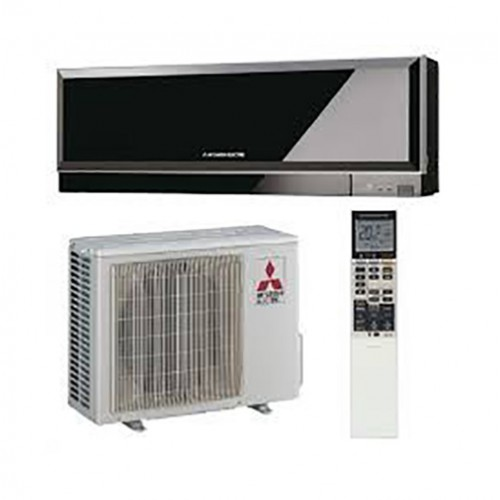 Aer conditionat split inverter Mitsubishi Electric Kirigamine Zen EF50VE 18000 BTU Negru