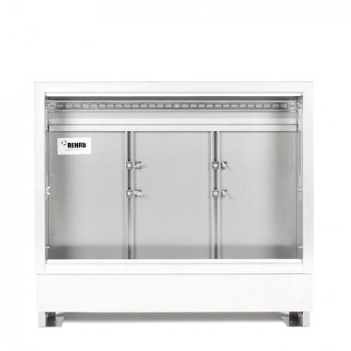 Dulap pentru distribuitor cu montare in perete Rehau UP 110/1300 10-15 căi